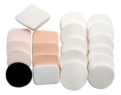 Luxxii (20 Unidades) Esponja De Maquillaje En Polvo Libre De
