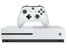 Console Xbox One S Branco Slim 500gb