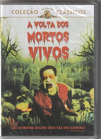 Dvd A Volta Dos Mortos Vivos - Terror ( Dublado E Lacrado)