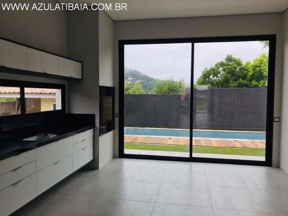 Linda Casa Térrea Em Condomínio Fechado. Atibaia Park (terras De Atibaia) Portaria, Rondas E Área De Lazer... - Ca00623 - 34501190