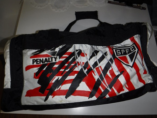 Bolsa Viagem Penalty São Paulo Futebol Clube Anos 90 Linda!!