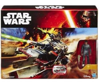 Star Wars Desert Landspeeder Con Finn Original Hasbro