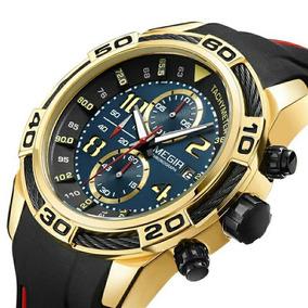 Relógio Megir Original 2045 Luxo Esportivo Frete Grátis Hoje