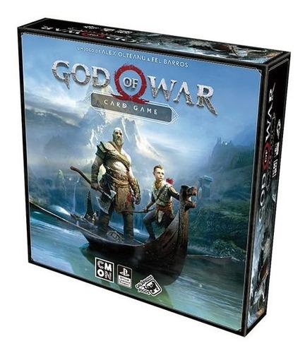 Imagem 1 de 4 de Galápagos - God Of War (card Game)