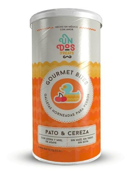 Galletas Para Perros Gourmet Bites Pato Y Cereza De 5.5 Oz