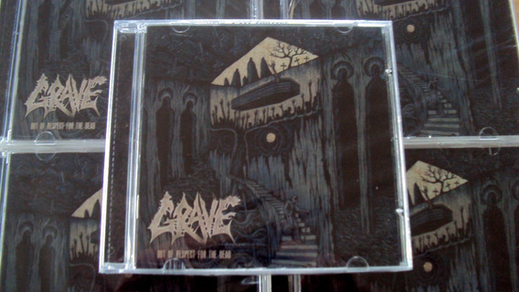 Cd Grave - Out Of Respect For The Dead / Novo E Lacrado