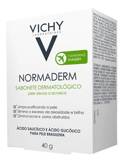 Normaderm Sabonete Facial Vichy 40g