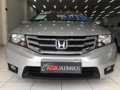Honda City Automático Lx 1.5 Flex 2014 Completo Único Dono