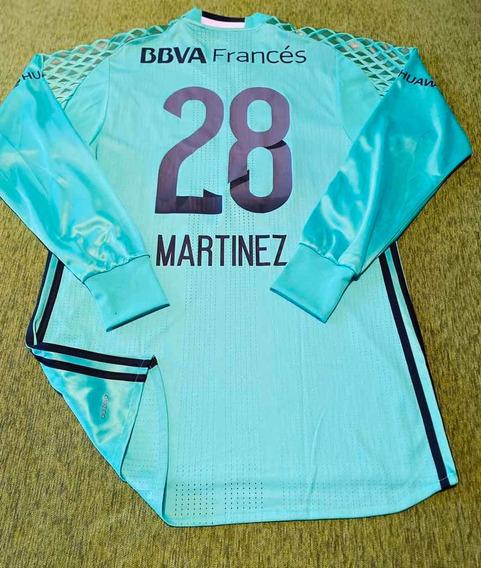 Camiseta River Homenaje Chapecoense # 28 Martinez Talle 6