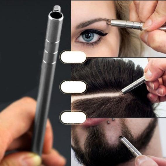 Caneta Navalha Capilar Barbearia Desenho