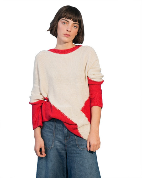Sweater Boris Rojo Dama