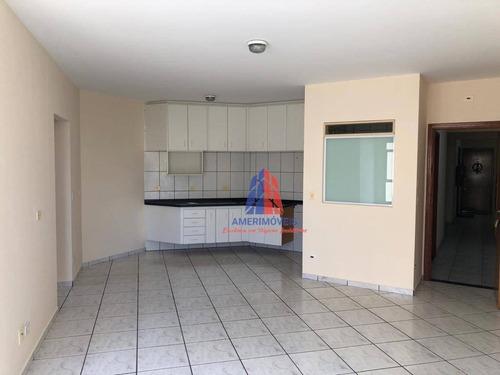 Imagem 1 de 25 de Apartamento Com 2 Dormitórios, 66 M² - Venda Por R$ 310.000,00 Ou Aluguel Por R$ 900,00/mês - Santo Antônio - Americana/sp - Ap1447