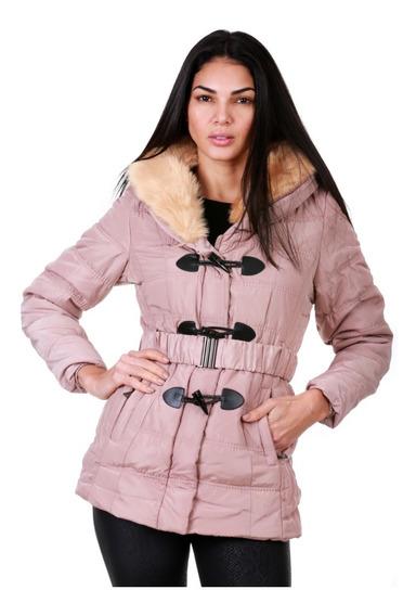 Chamarra Para Mujer Calientita Capricho Collection Lj18-067m