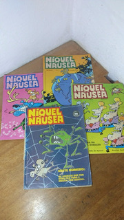 Hq - Coleção Incrível Do Níquel Náusea - 8 Revistas