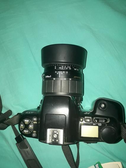 Camara Fotográfica Profesional Con Lentemarc Nikon Japonesa