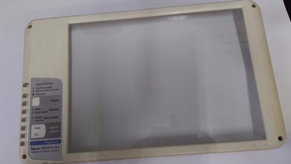 Vidro + Moldura Do Scanner Impressora Hp Psc 1210
