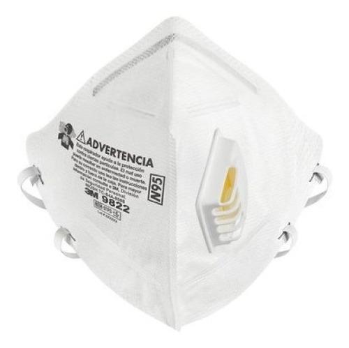 Mascarilla Respirador Barbijo 3m N95 (9822)