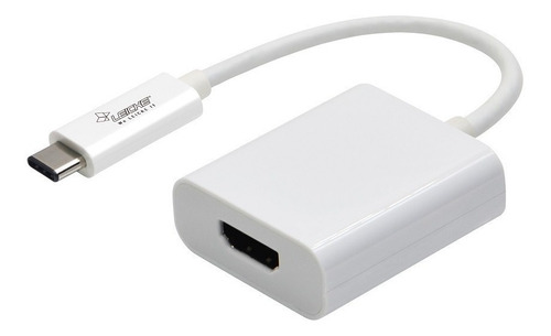 Imagen 1 de 5 de Adaptador Conversor  Usb-c 3.1 Type C A Hdmi Para Mac 10gbps