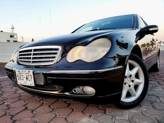 Mercedes-benz Clase C 2.4 240 Elegance At 2002