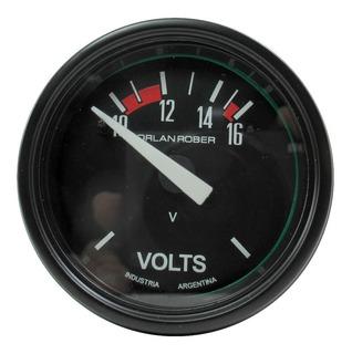 Voltimetro Orlan Rober Classic 52mm 624 H 12v