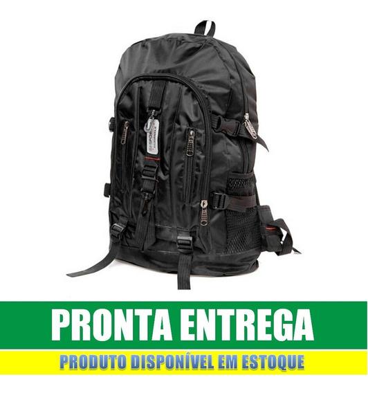 Mochila Impermeável Motoqueiro Camping Escolar 50 Litros