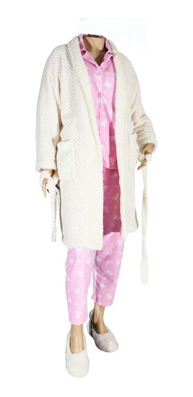 Bata Levantadora Para Crema Blanca, Batín, Pijama