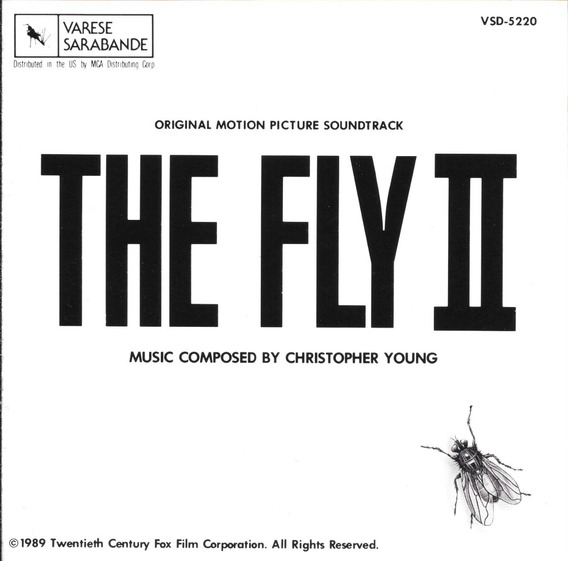 Christopher Young : The Fly 2 / La Mosca 2 - Bso Cd Musica