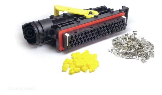 Conector Plug Do Módulo Mercedes Pld Axor Atego Kit 55 Vias