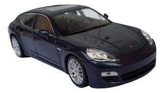 Miniatura Porsche Panamera S 1/24 Welly Azul