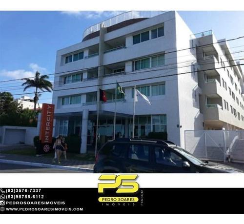 Imagem 1 de 8 de Studio À Venda, 34 M² Por R$ 250.000 - Manaíra - João Pessoa/pb - St0009