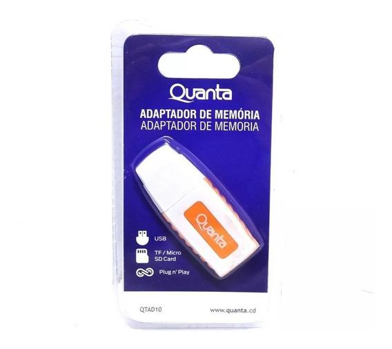 Leitor Cartão Micro Sd Usb Universal Adaptador Memória Novo