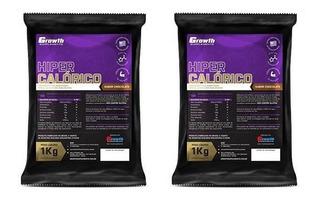 Hipercalórico Growth Supplements 2kg Chocolate Original