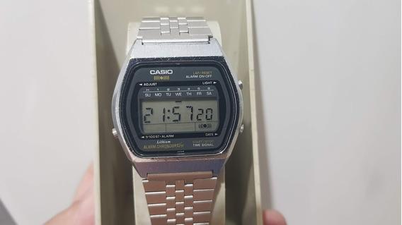 Relogio Casio Qs40 Primeiro Relogio Com Alarme 1979 Raridade