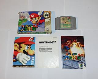 Super Mario 64 Para Nintendo 64 N64 Completo En Caja !