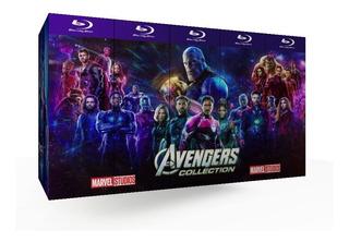 Bluray Avengers - Peliculas Colección Marvel - Mcu