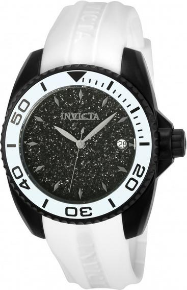 Relógio Invicta Angel 22705 Mostrador Purpurinas Negras
