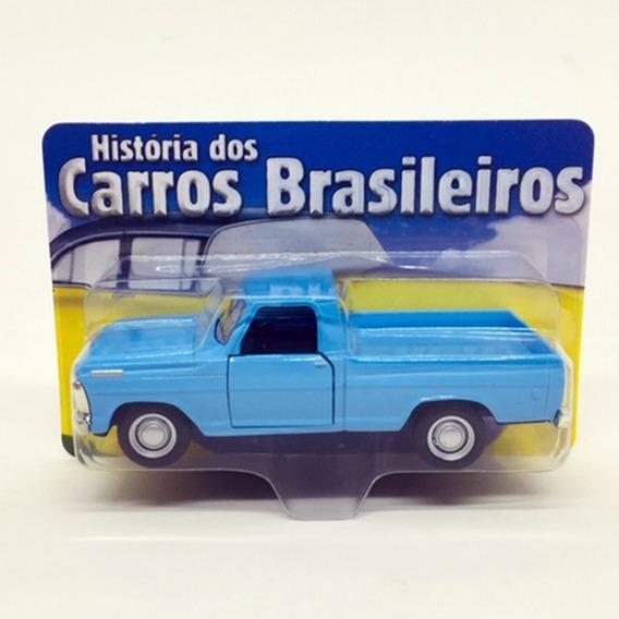 Miniatura Ford F100 Azul 11 Cm 720038