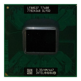 Intel Core 2 Duo T7600 2.33ghz Notebook