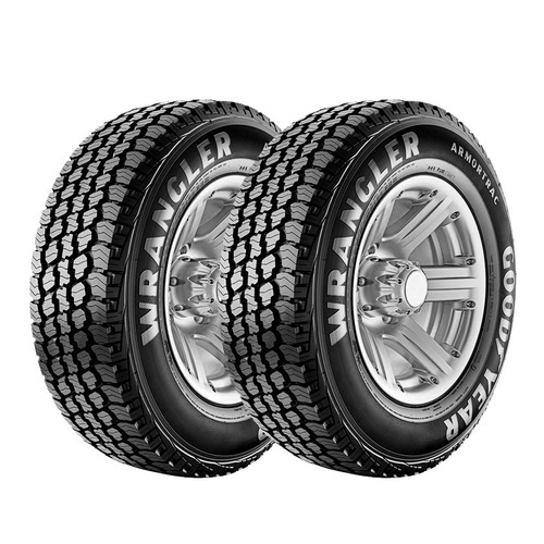 Kit 2 Goodyear Wrangler Armortrac 255/60 R18 Cuotas