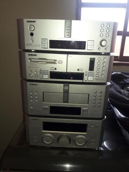 Sony Md 919 Modulado Não Liga So Estrala O Rele Leia A Desc