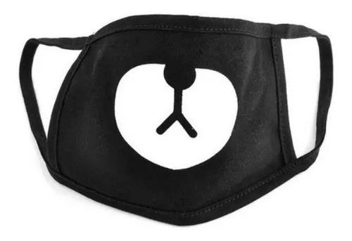 Tapabocas Oso Kawai Mascara Kpop Protector Anti-polucion Bts