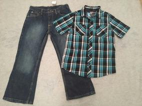 Conjunto Pantalon Y Camisa Talla 10 Ropa Americana