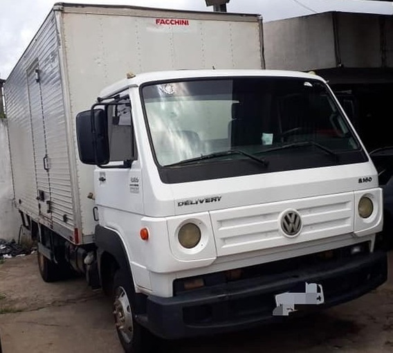 Vw 8.160 Delivery Ano 2013 Baú