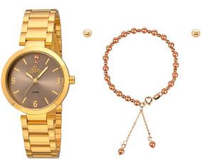 Relógio Allora Feminino Al2036fie/k4m