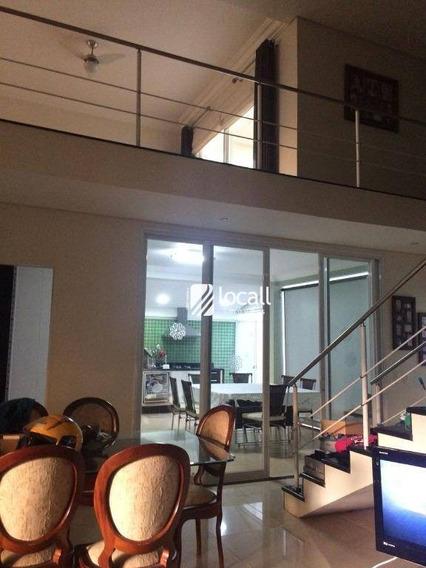Casa Com 4 Dormitórios À Venda, 267 M² Por R$ 660.000 - Condomínio Village Damha Mirassol Ii - Mirassol/sp - Ca1829