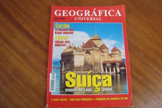 Bloch Geografica Universal 288 / Suiça Caribe Luxor Leman