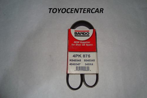 Correa De Aire Acondicionado Toyota Starlet 92-99