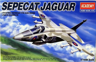 Sepecat Jaguar Escala 1/144 Academy 12606