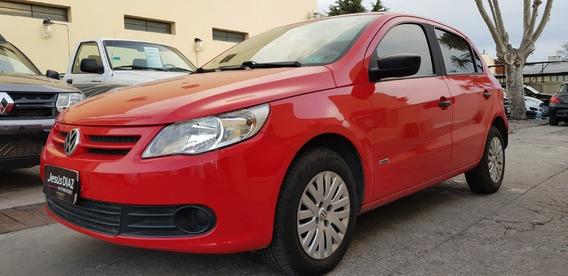 Volkswagen Gol Trend Base Mod 2010 Rojo 99000km