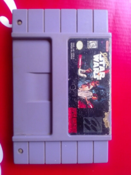 Fita Super Nintendo Super Star Wars Original